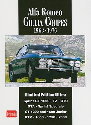 Alfa Romeo Giulia Coupes By Clarke, R. M. (COM)